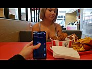 thumb Kfc Public Lush  Control And Creampie In The B eampie In The Bathroom