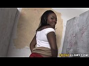 thumb Busty Ebony Osa  Lovely Takes Gloryhole Cock loryhole Cock