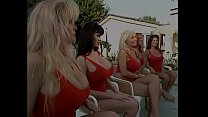 The new arrival  brunette sophia staks with huge knockers has got a bit of navy cake with lifeguard instructor