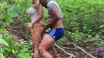 Salieron del gym a cojer en un bosque