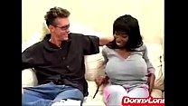 Donny Long rips open big titty black sexy mama ... Thumbnail