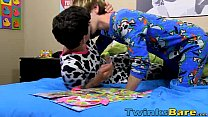 Bareback sleepover with twinks Colby Klein and ... Thumbnail