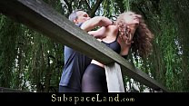 Teenager cutie ends her newbie status in bdsm s...