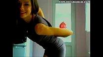 Gorgeous college teen teasing on webcam - VipGirlsWorld.com