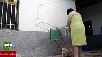 Ups...se me ha caído la toalla y se me ve por despiste todo el coño pelado.gui60