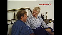 He shows grandma his bedroom and she wants to fuck