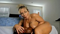 Thick pawg milf cam sucking riding squirting  on dildo bbc