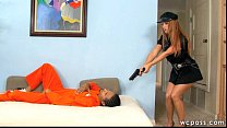 Officer Janet Interracial 3some Thumbnail