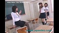 New High School Student Gets Introduced to the Teacher Thumbnail