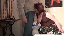 BBW Maman francaise grave sodomisee dans un tri... Thumbnail