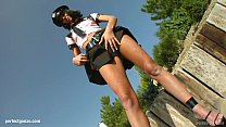 Queenie engadged in some hot gonzo style pov ac...