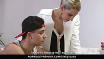 KINKY INLAWS - Stepson gets to please Czech ste... Thumbnail