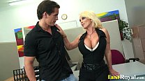 Only Holly Halston can pleasure a fat pecker