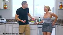 Nurumassage christie stevens gives her son-in-law a secret massage