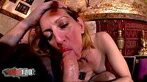 Hot french Milf Louise du Lac hard anal fucking Thumbnail