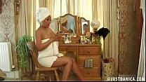 Danica Collins (Donna Ambrose) Creaming Up