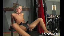 Extreme thraldom action with old guy mistreatin...