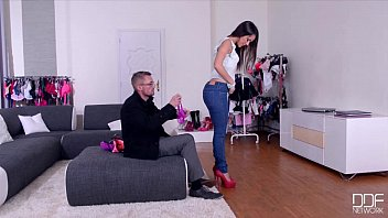 DDF Network - Salesgirl Gets Her Ass And Pussy Stuffed In Store thumbnail