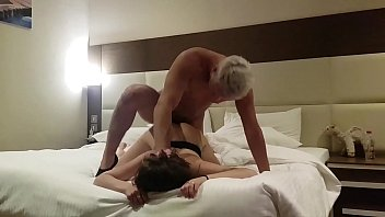 fucked a prostitute in a hotel ! hidden Cam (part 2) cum in mouth thumbnail