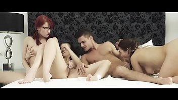 SEXART - Hot foursome with Eurobabes