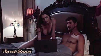 Cheating big tit milf switches husbands - SweetSinner thumbnail