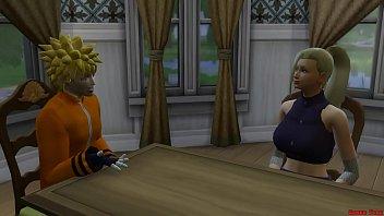 Sakura Encuentra a su amiga Ino con su Esposo Sasuke Cuarto Matrimonial Naruto Hentai NTR thumbnail