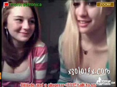 Stickam girls on webcm fun and show what they have