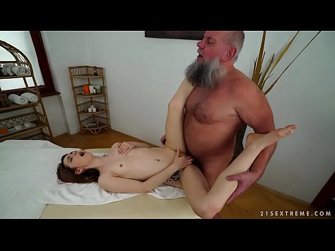 cover video Older Man Fucks  Her Younger Massage Client ssage Client