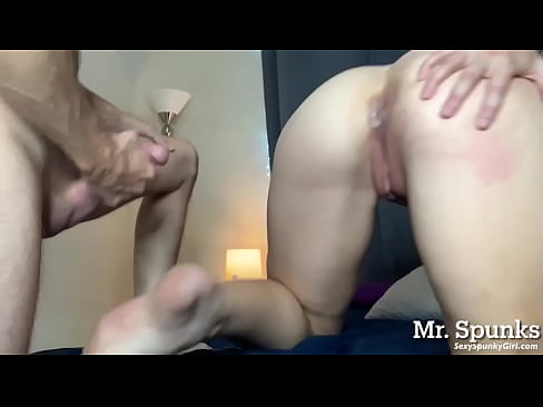 Virgin ass fuck: first time anal & facial for cheating wife