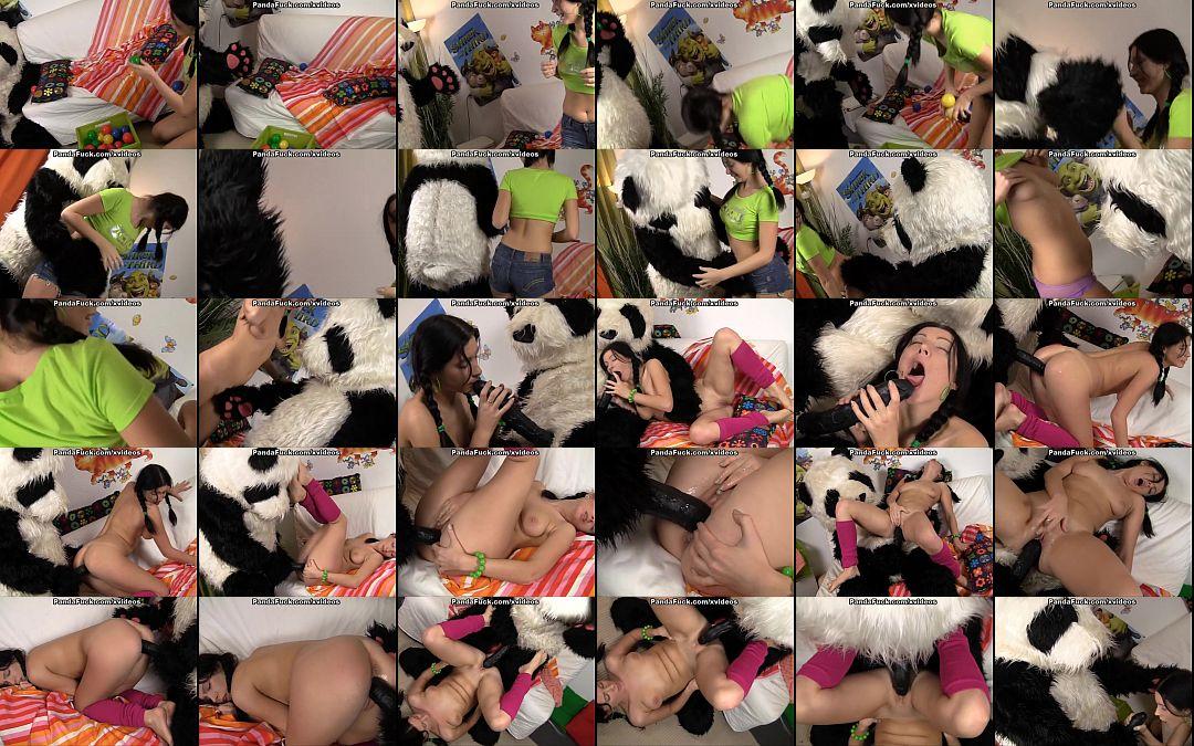 Asian porn panda