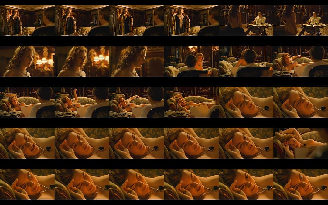 Naked scene from titanic, old men dicks porn