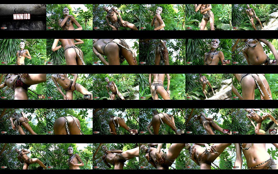 Bianka Blacka Horny Ebony Getting Naked Let Me Jerk 1