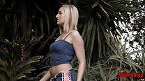 Blonde Kate England Gets Hammered