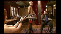 A day of debauchery and sexual service