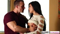 Babes - Striped Shorts  starring  TJ Cummings and Adriana Chechik clip
