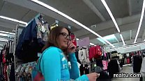 Flawless czech nympho was seduced in the mall and rode in pov tumblr xxx video
