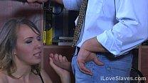 Submissive slave must suffer from harsh flogging while giving master pleasure Vorschaubild