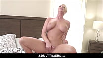 8279 Big Tits Blonde MILF Step Mom Lets Lonely Step Son Fuck Her preview