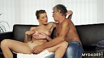 Neighbor catches step mom and boss' patron's daughter first time Sex thumbnail