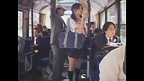 japan schoolgirl bukake in bus,  what's her name?? Thumbnail