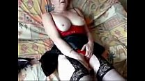 My mature whore loves to be watched while she masturbates