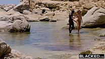 BLACKED Strong black man fucks blonde tourist on the beach Preview