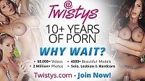 Twistys - Veronika Symon starring at Symon Straight Up