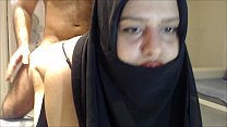 CRYING ANAL ! CHEATING HIJAB WIFE FUCKED IN THE ASS ! bit.ly/bigass2627 image