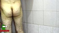 Hard on the shower. MILF caught with a hidden spycam by a voyeur RAF318 صورة