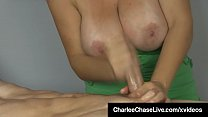 19705 Big Titty Charlee Chase Gives Oily HandJob to Client! preview