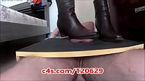Sylvana use Cowgirl boots to trampling in balls