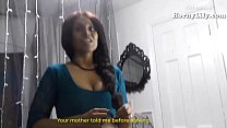 Lily South Indian Tamil Maid fucking a virgin boy thumbnail