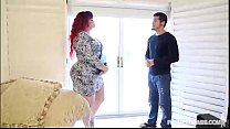 Redhead PAWG Marcy Diamond Fucks Young Stud video