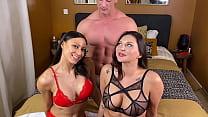 A 3some With Anna Polina and Dorian Del Isla